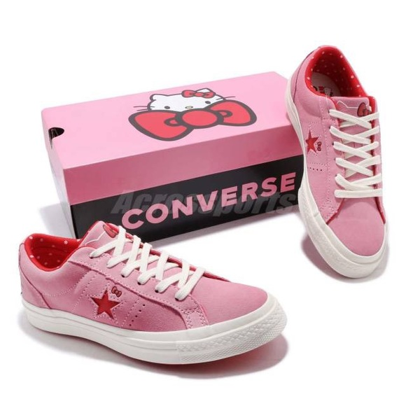 Hello Kitty Shoes Converse Shoes | New Hello Kitty One Star Pink | Poshmark